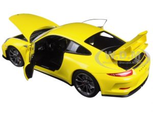 Porsche 911 991 CARRERA S Convertible Yellow from 2011 1//18 Minichamps Model