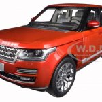 2013 Land Rover Range Rover Red 1/18 Diecast Car Model by Welly
