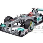 Mercedes GP Petronas F1 Team MGP W02 Michael Schumacher 2011 1/18 Diecast Model Car by Minichamps