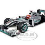 2010 Mercedes GP Petronas MGP W01 Michael Schumacher 1/18 Diecast Model Car by Minichamps