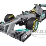 2012 Mercedes AMG Petronas F1 Team W03 Nico Rosberg 1/18 Diecast Model Car by Minichamps