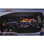 Red Bull Racing Renault RB8 Sebastian Vettel Brazil GP 2012 World Champion 1/18 Diecast Model Car by Minichamps