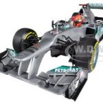 Mercedes AMG Petronas F1 Team F1 W03 Michael Schumacher European GP Valencia 3rd Place 2012 Limited to 1002pc 1/18 Diecast Model Car by Minichamps