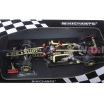 Lotus F1 Team Renault E20 Kimi Raikkonen Winner Abu Dhabi GP 2012 1/18 Diecast Model Car by Minichamps