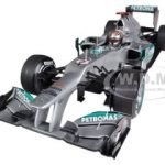 Mercedes AMG Petronas F1 Team F1 W03 Michael Schumacher Belgian GP 2012 300th GP Limited to 1140pc 1/18 Diecast Model Car by Minichamps