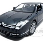 Citroen C6 Charcoal Grey 1/20 Diecast Model Car by Bburago