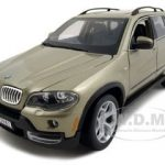 BMW X5 4.8i Champagne 1/19 Diecast Model Car by Bburago