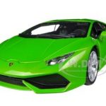 Lamborghini Huracan LP610-4 Green 1/18 Diecast Car Model by Bburago