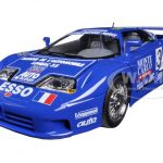Bugatti EB 110 Blue #34 La Mini Mineria 1/18 Diecast Car Model by Bburago