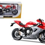 2012 MV Agusta F3 Red Bike Motorcycle 1/12 Diecast Model by Maisto