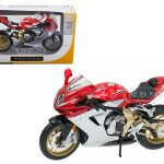 2012 MV Agusta F3 Serie Oro Red Bike Motorcycle 1/12 Diecast Model by Maisto