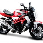 2012 MV Agusta Brutale 1090 RR Red/Silver 1/12 Motorcycle by Maisto