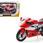 2012 MV Agusta F4RR Red Bike 1/12 Motorcycle Model by Maisto