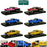 Drivers 6 Cars Set Release 29 In Blister Pack 1/64 by M2 Machines