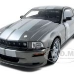 2006 Shelby Mustang CS 6 Grey 1/18 Diecast Model Car by Shelby Collectibles