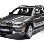 BMW X5 Grey 1/19 Diecast Model Car by Bburago