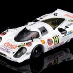1969 Porsche 917 #8 Kyalami 9H Team Perfect Circle/Coca Cola 1/43 Diecast Model Car by True Scale Miniatures