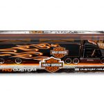 Harley Davidson Custom Hauler Trailer Black 1/64 Diecast Model by Maisto