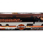 Harley Davidson Custom Hauler Trailer Grey 1/64 Diecast Model by Maisto