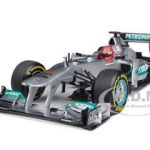 Mercedes AMG F1 Petronas 2012 Hockenheim Michael Schumacher Showcar 1/18 Diecast Model Car by Minichamps
