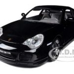 Porsche 911 Turbo Black 1/18 Diecast Car Model by Bburago