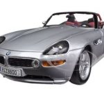 BMW Z8 Silver 1/18 Diecast Car Model by Bburago