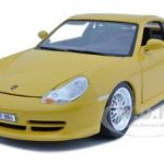 Porsche 911 GT3 Strasse Yellow 1/18 Diecast Model Car by Bburago