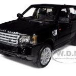 Range Rover Sport Black 1/18 Diecast Car Model by Bburago