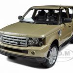 Range Rover Sport Gold 1/18 Diecast Model Car by Bburago