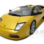 Lamborghini Murcielago Roadster Yellow 1/18 Diecast Model Car by Bburago