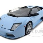 Lamborghini Murcielago Roadster Baby Blue 1/18 Diecast Model Car by Bburago