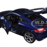 Audi TT RS Metallic Blue 1/18 Diecast Car Model by Bburago