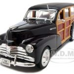 1948 Chevrolet Woody Fleetmaster Brown 1/24 Diecast Car Model by Welly