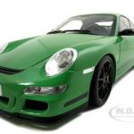 Porsche 911 (997) GT3 RS Green 1/12 Diecast Model Car by Autoart