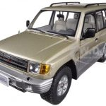 1998 Mitsubishi Montero Long 3.5 V6 Sudan Beige Metallic 1/18 Diecast Car Model by Sunstar