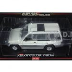 1998 Mitsubishi Montero Long 3.5 V6 Summit White 1/18 Diecast Model Car by Sunstar