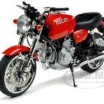 Ducati GT1000 Red 1/12 Diecast Model by Autoart
