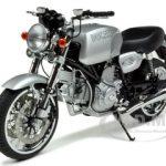 Ducati GT 1000 Silver 1/12 Diecast Model by Autoart