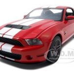 2010 Ford Shelby Mustang GT500 Torch Red 1/18 Diecast Car Model by Greenlight