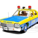 1974 Dodge Monaco New York State Police 1/18 Diecast Model Car by Autoworld