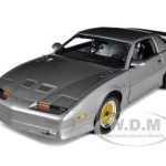 1988 Pontiac Firebird Trans Am GTA Sterling Grey Metallic Limited Edition 1 of 1350 Produced Worldwide 1/18 Diecast Model Car by Greenlight