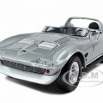 1964 Doms Chevrolet Corvette Grand Sport Silver From Movie Fast Five Fast & Furious 1/18 Diecast Model Car by Greenlight