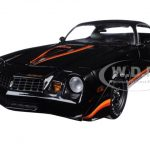 1979 Chevrolet Camaro Z/28 Black with Black Interior 1/18 Diecast Model Car by Greenlight