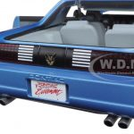 1989 Pontiac Firebird Trans Am GTA Medium Maui Blue Metallic Hardtop 1/18 Diecast Model Car by Greenlight