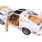 1978 Ford Mustang II King Cobra 5.0 Polar White and Gold 1/18 Diecast Model Car by Greenlight