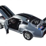 1967 Ford Mustang Eleanor Gone in 60 Seconds Movie (2000) Polished Metal Limited Edition 1/18 Diecast Model Car by Greenlight
