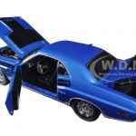 1971 Dodge Challenger HEMI R/T B-5 Blue 1/18 Diecast Model Car by Greenlight