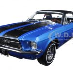 1967 Ford Mustang Coupe Ski Country Special Vail Blue 1/18 Diecast Model Car  by Greenlight