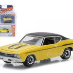 1969 Chevrolet Chevelle COPO Yenko Daytona Yellow 1/64 Diecast Model Car by Greenlight