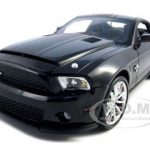 2010 Shelby Mustang GT500 Super Snake Black 1/18 Diecast Model Car by Shelby Collectibles